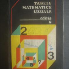 E. ROGAI, C. TEODORESCU - TABELE MATEMATICE UZUALE