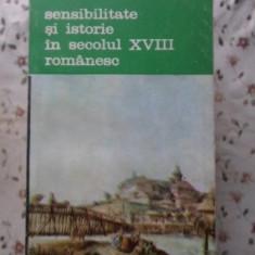 Sensibilitate Si Istorie In Secolul Xviii Romanesc - Stefan Lemny, 400350 - Album Arta