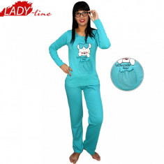 Pijama Dama Maneca/Pantalon Lung, Model Little Cute Bear, Brand Vocal, Cod 164