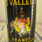brandy  3 valletti, sarti  - L. 1  gr 40 sticla ani 60