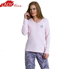 Pijama Dama Din Bumbac Interlock, Brand Kezokino by Vienetta, Cod 676