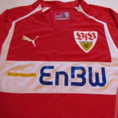 Tricou fotbal VFB STUTTGART (Germania) - Tricou echipa fotbal, Marime: M, Culoare: Rosu, De club, Maneca scurta