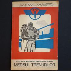 MERSUL TRENURILOR 1992-1993 - Ghid de calatorie