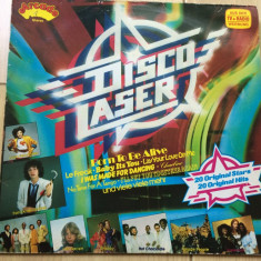 Disco Laser vinyl lp ‎disc muzica pop rock disco hituri anii 70 80 Various vest, VINIL