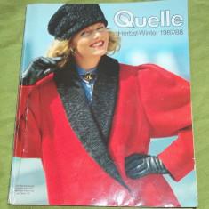 Catalog Quelle 1987-1988 (moda retro)