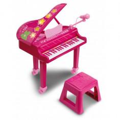 Jucarie pian electronic fete cu microfon si scaun - Instrumente muzicale copii Bontempi