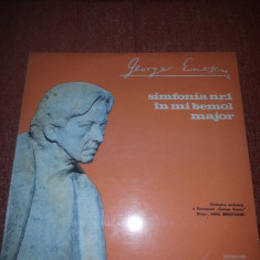 George Enescu-Simfonia 1 mi bemol major-Electrecord ECE 01037 vinil - Muzica Clasica
