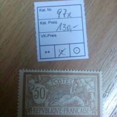 Franta 1900 - Mi.97x 130 Euro, Nestampilat