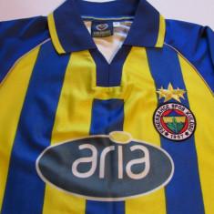 Tricou fotbal FENERBAHCE ISTANBUL (Turcia) - Tricou echipa fotbal, Marime: M, Culoare: Din imagine, De club, Maneca scurta