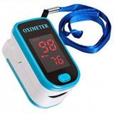 OXIMETRU + PULSOMETRU Digital / Pulsoximetru / puls si nivel oxigen din sange