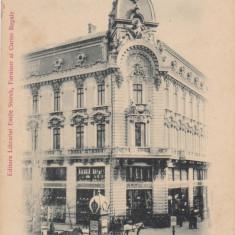 BUCURESTI PALATUL SOCIETATEI ANKER CLASICA - Carte Postala Muntenia pana la 1904, Necirculata, Printata