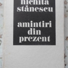 Amintiri Din Prezent - Nichita Stanescu, 400466 - Roman