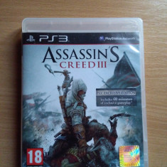 Assassin's creed 3 Exclusive Edition PS3 - Jocuri PS3 Ubisoft