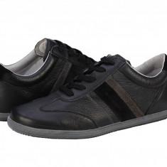 Pantofi sport piele barbati Bit Bontimes Touareg negri B5211PVQCNEGRU