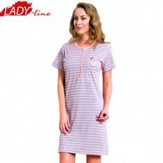 Camasa de Noapte Maneca Scurta, Model Venus, Brand Vienetta Secret, Cod 1340, Marime: L, Culoare: Din imagine