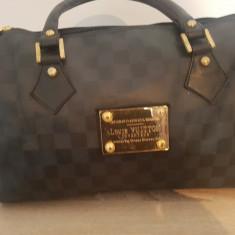 Geanta Louis vuitton - Geanta Dama Louis Vuitton, Culoare: Negru, Marime: Medie