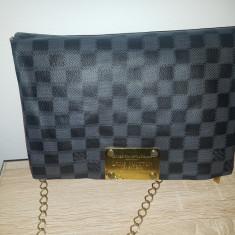 Geanta Louis vuitton - Geanta Dama Louis Vuitton, Culoare: Negru, Marime: Mica