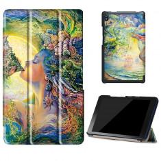 Husa Slim Dream pentru tableta Lenovo TAB 3 Plus TB-8703, 8 inch - Husa Tableta