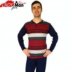 Pijama Barbati, Model Equilibrium In Dark, Brand Baki COllection, Cod 958 - Pijamale barbati, Marime: S, XL, Culoare: Din imagine