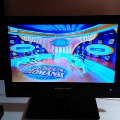 TV LED UNITED 15 .6 INCH ALIMENTARE 12V AUTO CONSUM DOAR 13 WATI - Televizor LED, Sub 48 cm, HD Ready, HDMI: 1, USB: 1, Intrare RF: 1