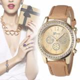 Ceas Dama Geneva, 2017 Pearl Beauty, Luxury Wrist Clock, Quartz