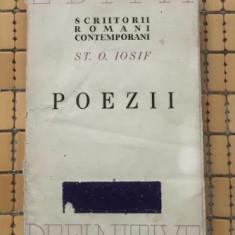 St. O. Iosif POEZII ex. numerotat 826 / tiraj 4100 ex