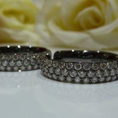 Cercei aur 14k cu diamante - Cercei cu diamante