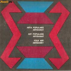 Arta populara-Artizanat*pliant - Carte Arta populara