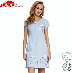 Camasa Noapte Gravide/Alaptat, Model Sweet Baby, Brand DN Nightwear, Cod 1067 - Pijamale gravide