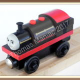 Thomas and Friends ✯ Very Rare Wooden Railway ✯ BERTRAM ✯ Magnetic Train ✯ 2003