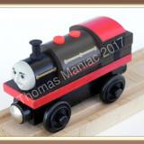 Thomas and Friends ✯ Very Rare Wooden Railway ✯ BERTRAM ✯ Magnetic Train ✯ 2003