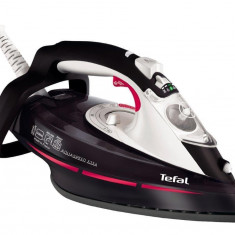 Fier de calcat Tefal Iron Tefal FV5356, Talpa Ultragliss Diffusion, 2400 W, 0.3 l, 170 g/min, negru-alb