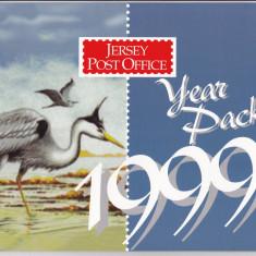 Jersey 1999 an intreg in pachet de prez. MNH w45 Michel > 80 eu - Timbre straine, Nestampilat