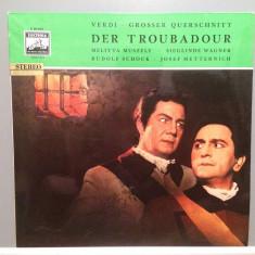 VERDI - TROUBADOUR (1959/EMI-ELECTROLA REC/RFG) - VINIL/Analog/NM - Muzica Clasica emi records