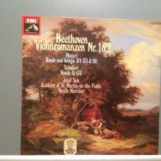 BEETHOVEN/MOZART/SCHUBERT -RONDO/ROMANZE/ADAGIO (1971/EMI/RFG) - VINIL/Analog/NM - Muzica Clasica emi records