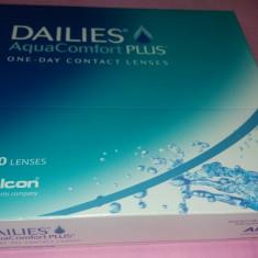 Lentile contact sigilate Dailies 90 bucati dioptrie -5 - Lentile ochelari