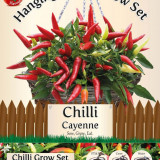 Set Agatator Chili- Cayenne - Seminte ardei iute
