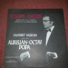 Haydn-Simfonia 49-La Passione, 59-Feuersymphonie-Electrecord ECE 01808 - Muzica Clasica electrecord, VINIL