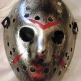 Masca Jason Voorhees Silver - Masca carnaval, Marime: Marime universala, Culoare: Din imagine