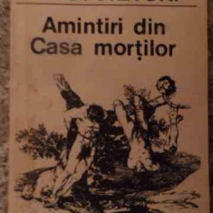 Amintiri Din Casa Mortilor - Dostoievski, 538710 - Carte in engleza