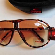 Ochelari Carrera Champion Rama maro Lentile maro - Ochelari de soare Carrera, Unisex, Plastic, Ovali, Protectie UV 100%