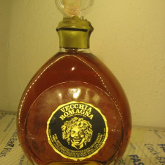 Brandy, RARE - VECCHIA ROMAGNA ETICHETTA NERA, 0, 75 L - 40 VOL ani 70 - Cognac