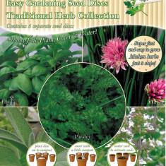 Mix de discuri cu seminte de plante aromatice - Easy Garden Parsley