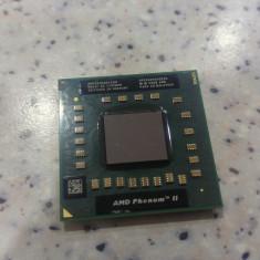Procesor laptop AMD Phenom II P960, Quad Core 1800 Mhz, socket S1G4, Intel, 1500- 2000 MHz, Numar nuclee: 4