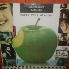 - Y- ALEXANDRU ANDRIES - POFTA VINE MANCAND - DISC VINIL LP - Muzica Folk