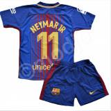 Compleu Echipament FOTBAL FC Barcelona NEYMAR Noul Model 2018 copii 4-14 ani
