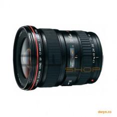 Obiectiv foto Canon EF 17-40 mm/ F4 L USM - Obiectiv DSLR