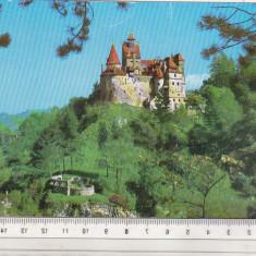 bnk cp Castelul Bran - Vedere - uzata