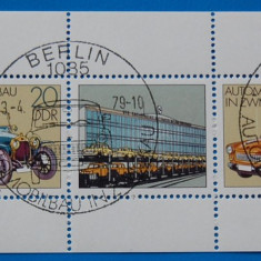 GERMANIA -DDR-COLITA -IND. AUTO-STAMPIL - Timbre straine, Stampilat