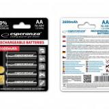 ESPERANZA Esperanza EZA106 Baterii reîncărcabile Ni-MH AA 2600MAH x4 - Baterie Aparat foto